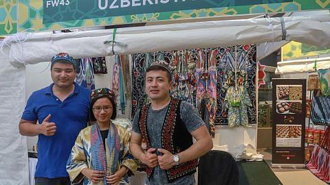 Peluang bergaya dengan baju Uzbekistan Raya nanti