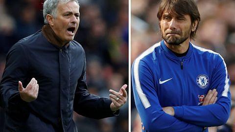 Jangkakan 'ledakan' pertembungan Mourinho, Conte