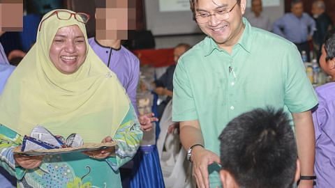 Saktiandi sertai iftar bersama penghuni RKM