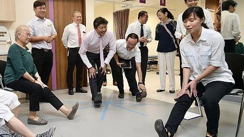 Teknologi robot Poliklinik Punggol jimat masa tunggu di farmasi