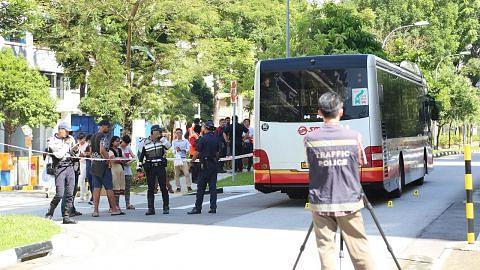 Budak lelaki maut selepas tersepit di bawah bas SMRT