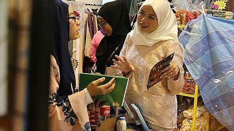 Pasar lambak untuk peniaga kecil di Geylang Serai