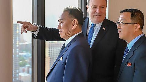 MENJELANG SIDANG PUNCAK AMERIKA SYARIKAT-KOREA UTARA Amerika, Korea Utara adakan siri pertemuan bagi persiapan sidang puncak