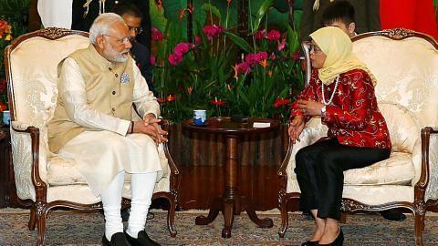 Kunjungan PM Modi eratkan kerjasama strategik India-S'pura