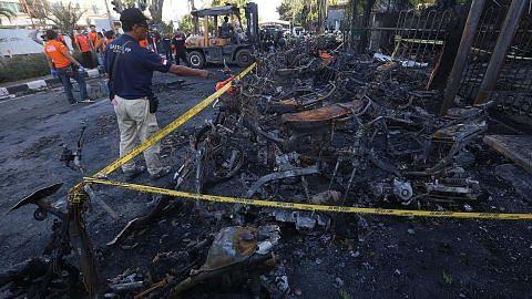 Polis Indonesia tahan 37 berkaitan kes bom bunuh diri di Surabaya