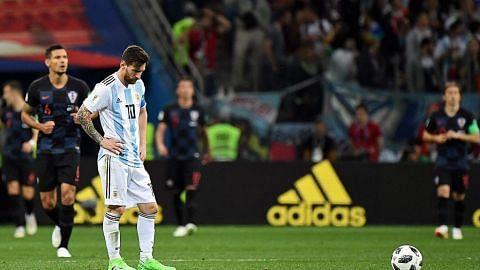 Apa kena dengan Messi?