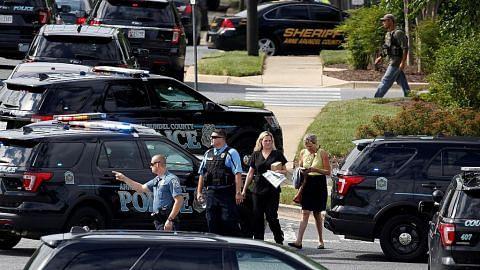 5 maut dalam serangan di pejabat akhbar di AS