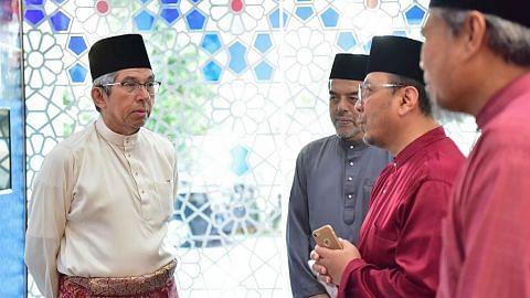 Pemimpin antara agama beri penghargaan kepada Yaacob