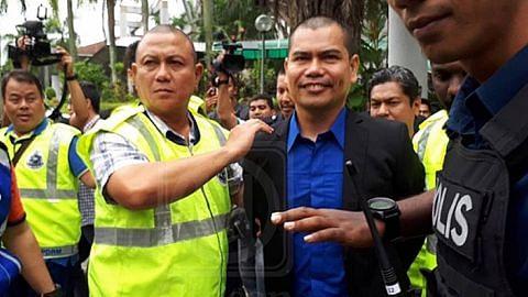Jamal mengaku salah pecah botol arak, didenda RM400