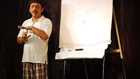 Pemergian 'seniman atasan' Khalid Salleh dirasai