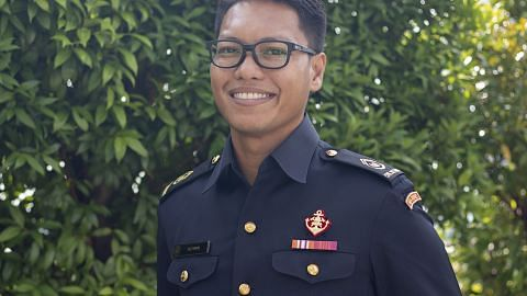 Pegawai SCDF bakar semangat tingkat pengajian