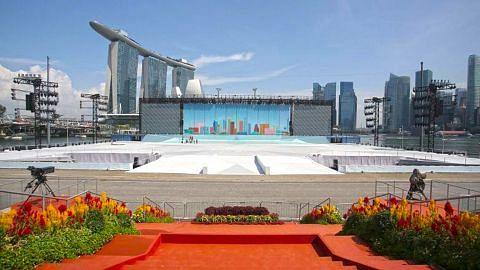 Polis: Keselamatan di kawasan Marina Bay diperketat