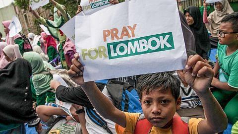 GEMPA BUMI DI LOMBOK Lebih 70,000 hilang tempat tinggal