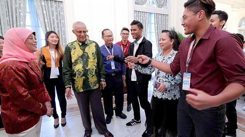 Presiden Halimah iktiraf sumbangan penganjur, peserta NDP