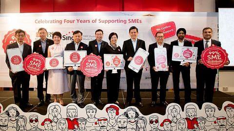EKONOMI DBS, Singtel bantu firma jalani e-dagang melalui gerbang '99%SME'