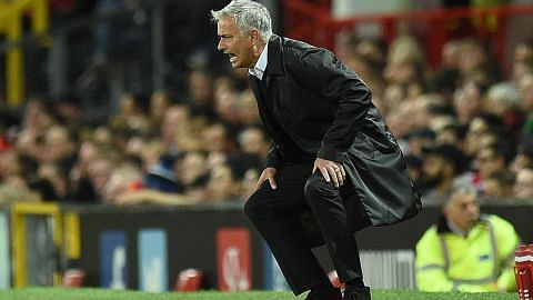 BOLA SEPAK LIGA PERDANA ENGLAND Mourinho tuntut dihormati selepas Spurs benam Man U di Old Trafford