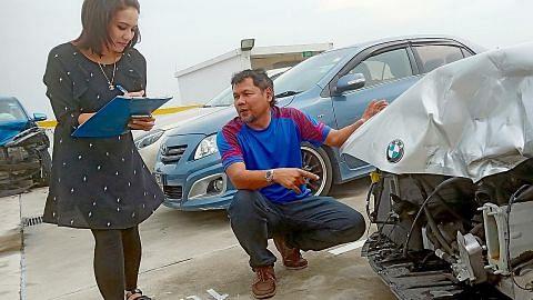 Konsultan wanita kemudi hiruk-pikuk dunia insurans nahas