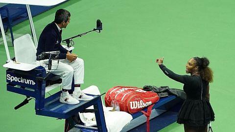 Tindakan Serena pecah belahkan dunia tenis