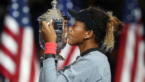 PERLAWANAN TENIS TERBUKA AMERIKA SYARIKAT OSAKA diasuh bapa jadi juara tenis sejak kecil