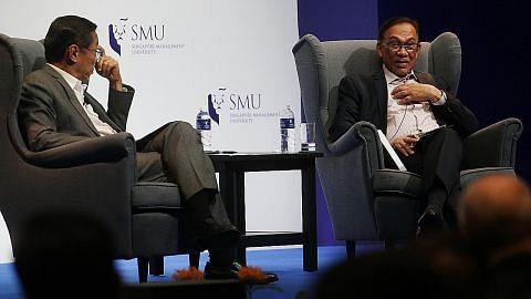 Anwar: Usah samakan Singapura dengan Malaysia