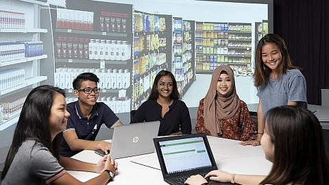 Pelajar poly, ITE seronok belajar, cepat hadam dengan teknologi maya