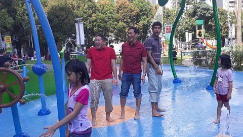 Taman Jelutung Habour kini ada mainan air