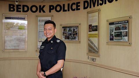 Pegawai polis bantu lelaki 'sesat jalan'