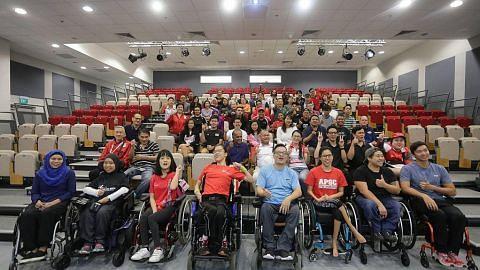 Shanmugam rai atlit para yang akan bertanding di Jakarta