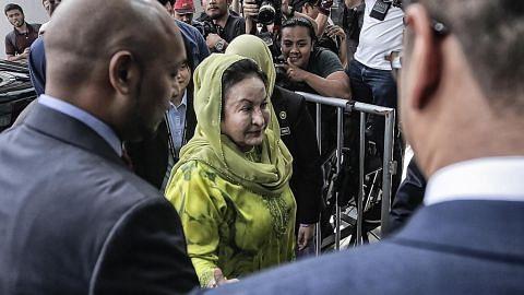 Rosmah ditahan suruhanjaya antirasuah