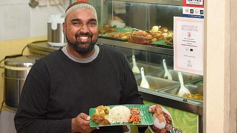 Pelanggan sambut baik usaha restoran sedia makanan sihat