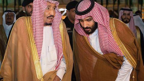 Raja Salman, Putera Mahkota ucap takziah