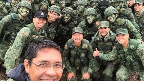Maliki saksi 'Latihan Daring Warrior' di AS