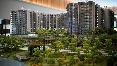 Pemaju Jepun, SPH lancar projek bersepadu The Woodleigh Residences
