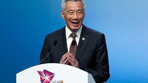 SIDANG PUNCAK ASEAN PM Lee: Asean harus pastikan rantau kekal terbuka, inklusif