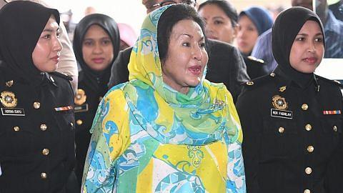 Rasuah $62j: Rosmah tidak mengaku salah