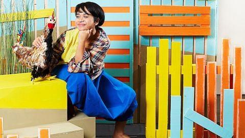 Jejak kejiranan, kitar semula perabot secara kreatif