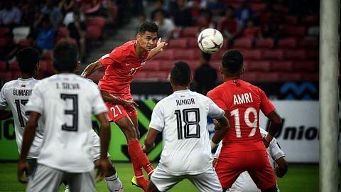 PIALA AFF SUZUKI Singapura benam Timor-Leste 6-1