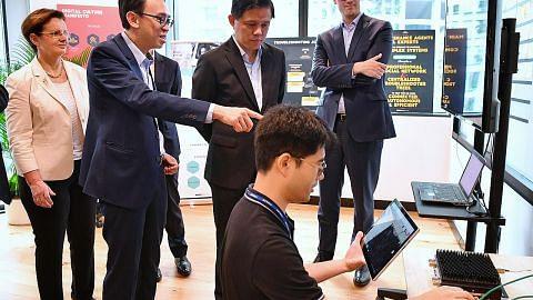 Syarikat teknologi Perancis Thales buka 'kilang digital' di S'pura