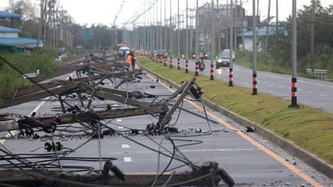 Tropical Storm Pabuk brings floods, blackouts to Thailand, but spares tourist islands