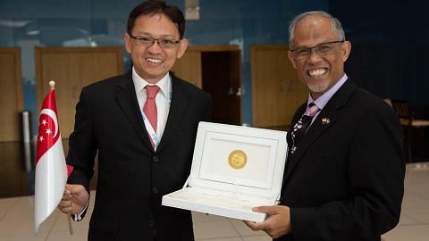 Ecosoftt first Singapore company to receive the renowned Zayed Prize, which celebrates sustainable, innovative and inspiring solutions