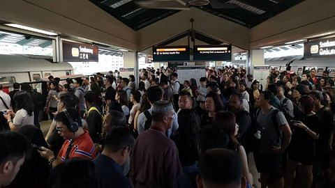 Delay on North-South Line due to hour-long train fault at Marsiling MRT station