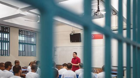 34 inmates from Tanah Merah Prison School sat for A-Level examinations in 2018
