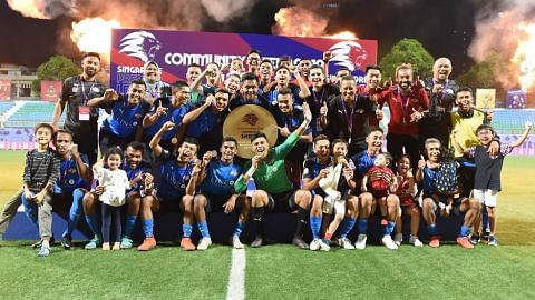 Home United won the Community Shield after beating Albirex Niigata 5-4 on penalties (full-time 0-0)