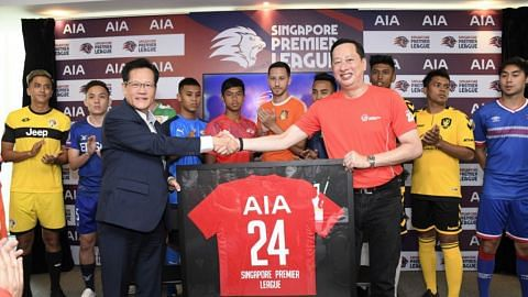 AIA singapore official sponsor of Singapore Premier League 2019