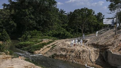 Pasir Gudang chemical spill: Singaporean among three charged over pollution of river