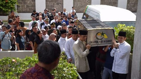 Singapore leaders offer condolences on death of former Indonesian first lady Ani Yudhoyono