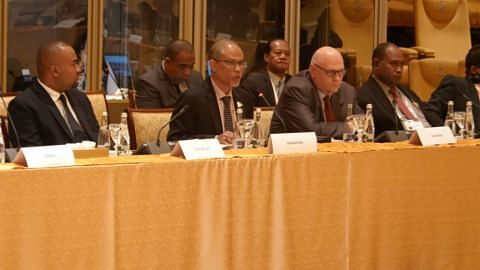 Masagos Zulkifli at the 3rd Ministerial on Climate Action and the Global Preparatory Meeting (GPM) for the UN Sec-Gen's Climate Action Summit