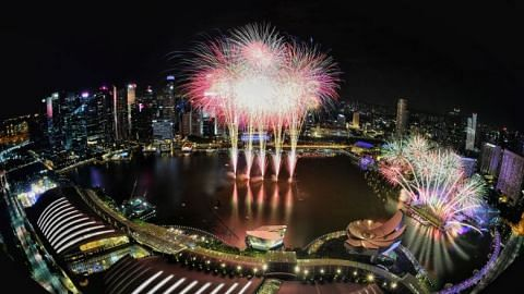 Musical, circus among countdown festivities at Marina Bay