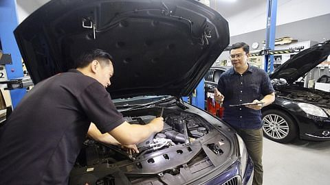 Selain latih pemandu, usahawan juga miliki bengkel kereta Jerman