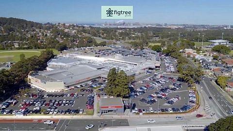 SPH Reit selesai beli pusat beli-belah Australia